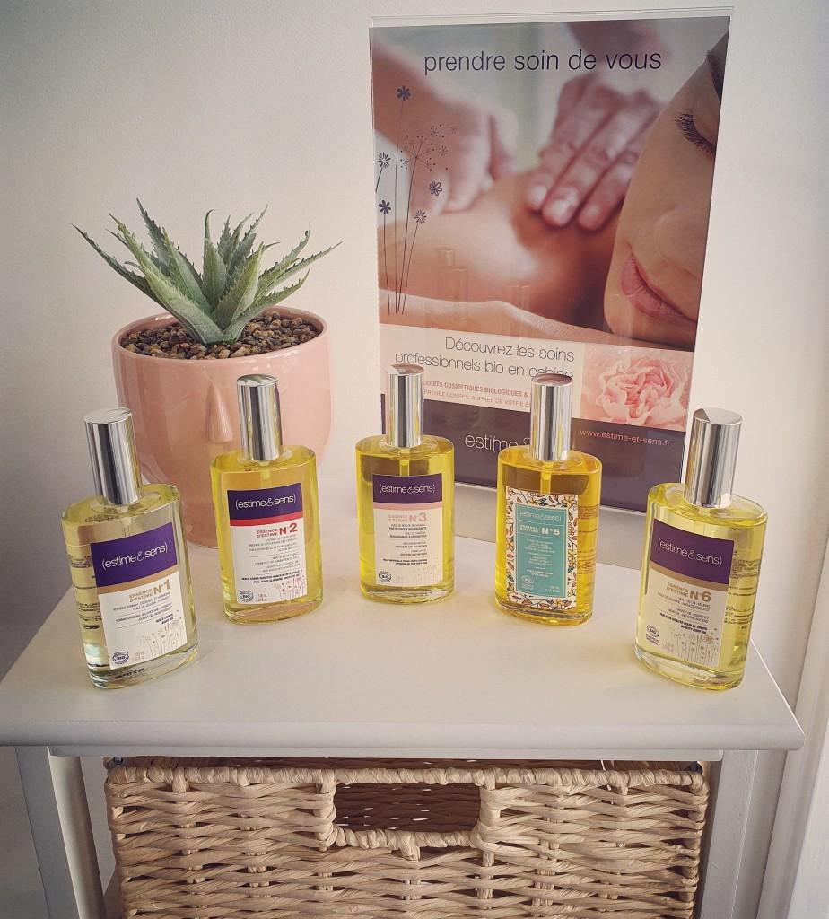 Huiles de Massage Essences d'Estime